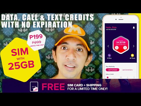 Philippine's Newest Telecom Telco | GOMO PH Unboxing and SIM REVIEW