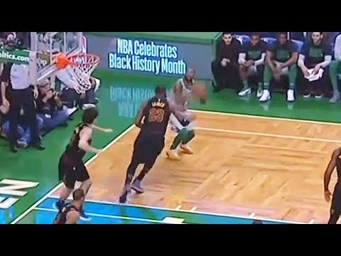 Kyrie Irving Crosses Over LeBron James After Shutting Him Down on Defense! Cavaliers vs Celtics