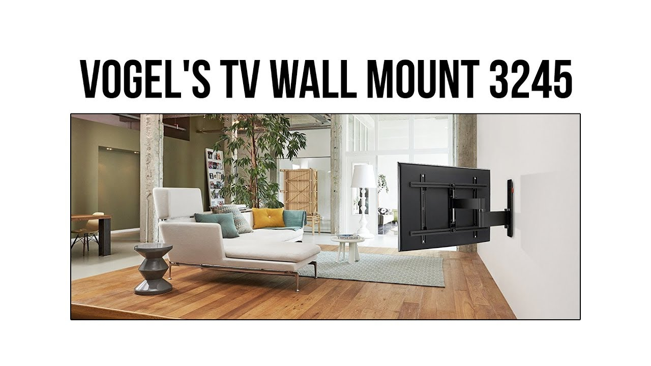 How To Mount A TV To The Wall | Vogelu0027s WALL 2245 3245 TV Wall Mount