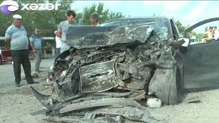 Sabirabad və Ağstafada ağır qəzalar - 4 ölü, 3 yaralı var