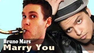 Bruno Mars - Tenor Saxophone - Marry You - BriansThing