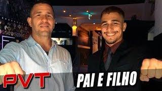 Diego Braga apresenta o filho, Gabriel, nova promessa do MMA brasileiro