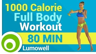 1000 Calorie Full Body Workout