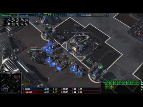 Oracle Harass Vs Widow Mine Defence In TvP/PvT - The PiG Daily #130