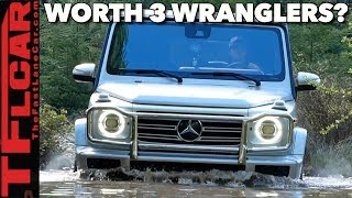 Is The New Mercedes-Benz G-Class Worth 3 Jeep Wranglers? We Take It Off-Road To Find Out!