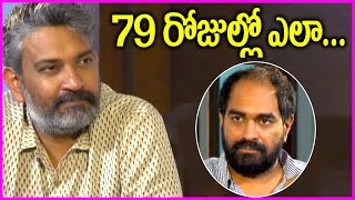 Krish About Gautamiputra Satakarni Movie Shooting in 79 Days | Funny Interview With Rajamouli