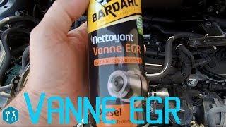 Nettoyage vanne EGR sans démontage avec un produit BARDHAL la suite