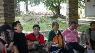 Blind Men from Malaysia Blind Association Music Performance Part 1