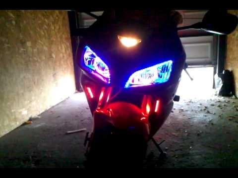 2007 Honda Cbr 1000rr Lite Up Youtube