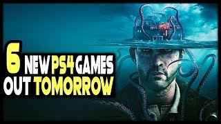 6 AWESOME NEW PS4 GAMES COMING TOMORROW!