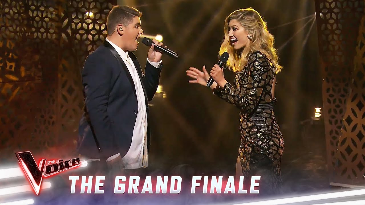 The Grand Finale: Delta Goodrem And Jordan Anthony Sing