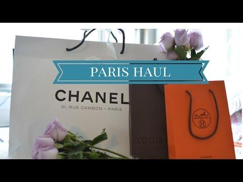 Paris Haul – Chanel, Hermes, Louis Vuitton