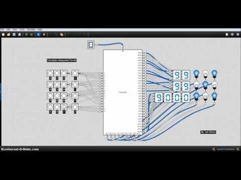 Integrated Circuit Design - Calculator