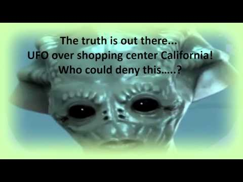 UFO over Stanford shopping center