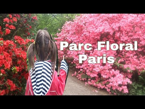Parc floral of Paris Part 1 - パーク・フローラルパリへ遊びに来たよ♪
