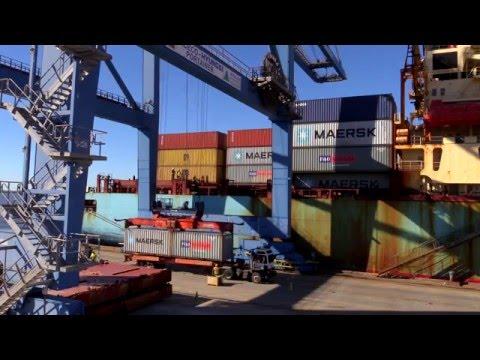 South Carolina Ports Wando Welch Terminal On Charleston Harbor
