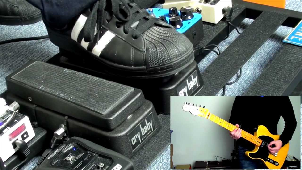 Jim Dunlop Cry Baby Classic Wah Pedal Shootout Youtube
