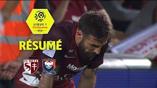 FC Metz - SM Caen ( 1-1 ) - Résumé - (FCM - SMC) / 2017-18