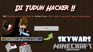 Saya Hacker !?? Di Nether games ? | Skywars #4