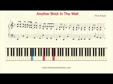 How To Play Piano: Pink Floyd
