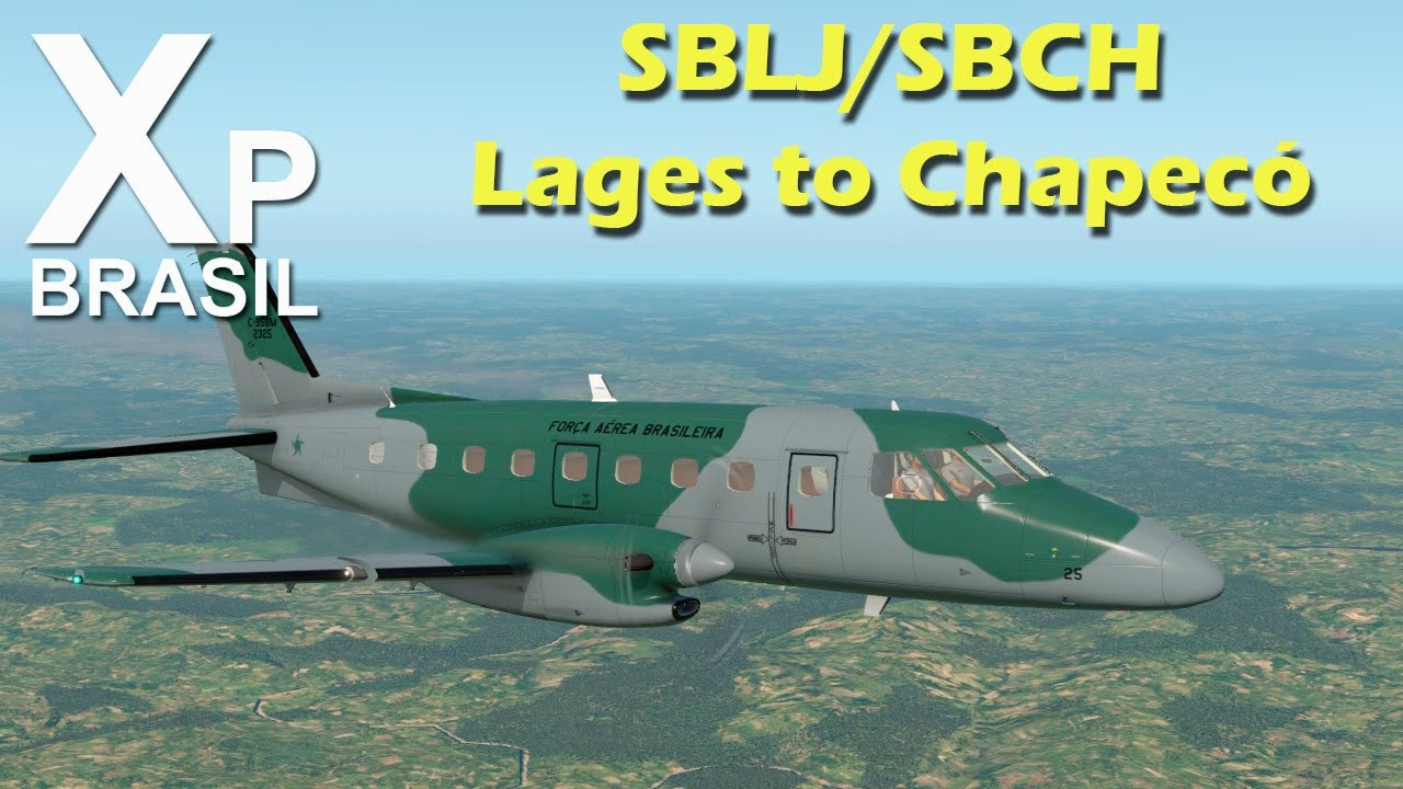 X Plane 11 - SBLJ/SBCH - Lages to Chapecó