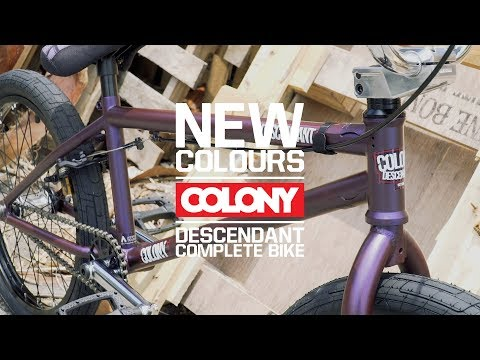 The Colony Descendant complete bike is back and in full force! This bike is loaded with the goods. More info here: ...