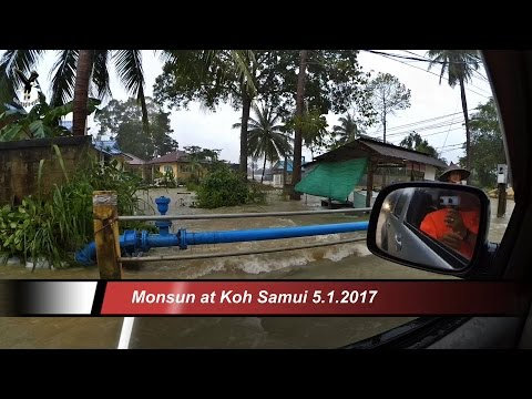 Monsun at Koh Samui 5-6.1.2017