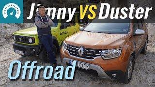 Suzuki Jimny vs Duster 2019 Оффроад