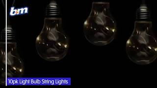 Solar Light Bulb String Lights | B&M Stores