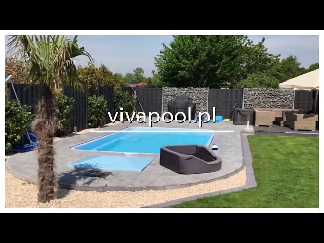 Realizacja basenu Venezia 6,10x3,70x1,50 Vivapool