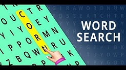 Word Search Puzzle - Brain Games | Puzzle Match | Word Connect | Educational Games