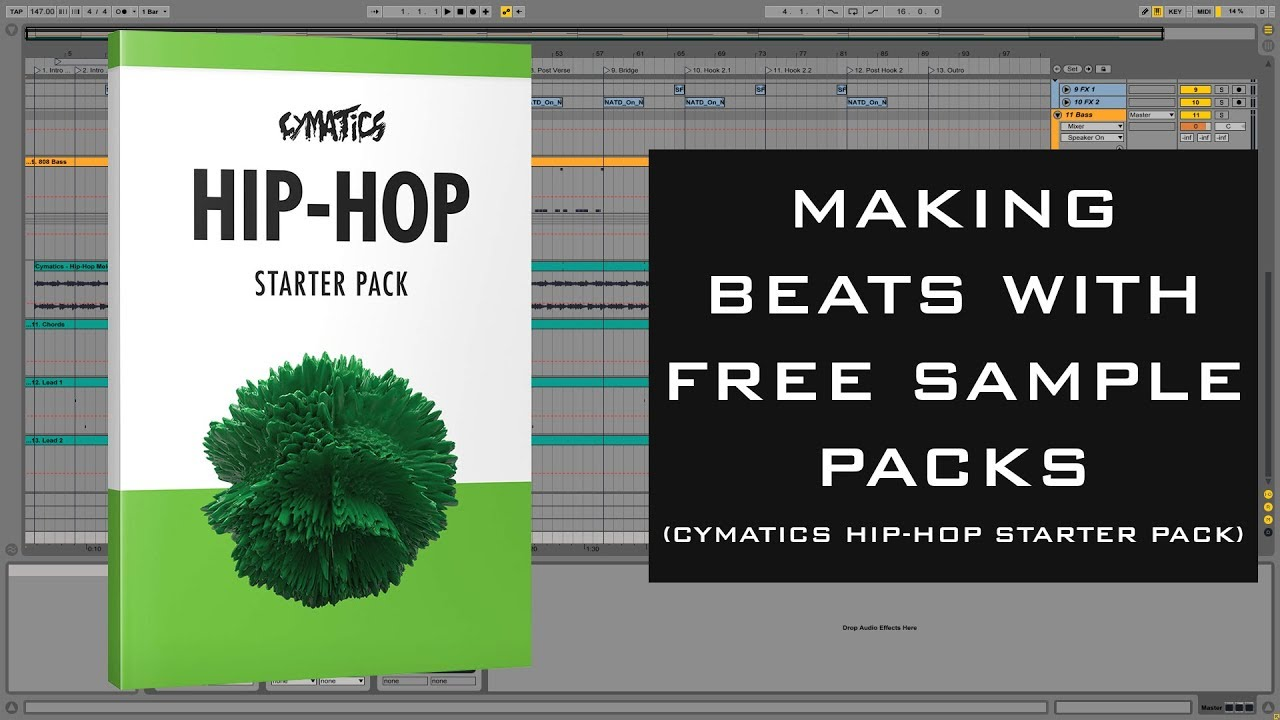 Making Beats with Free Sample Packs | Cymatics Hip-Hop Starter Pack