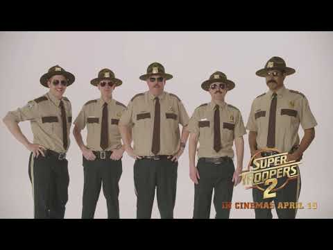 'Super Troopers 2' Wish Aussies A Happy And Safe Easter