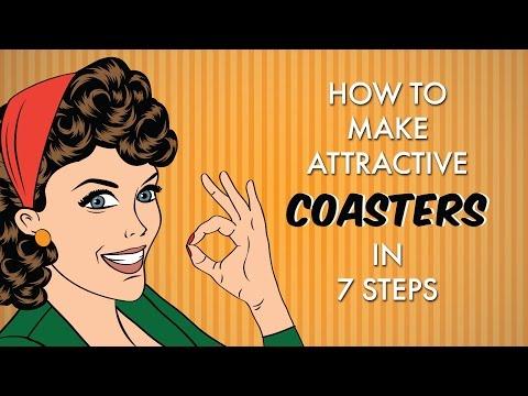 How to make coasters 2017 - DIY: coasters