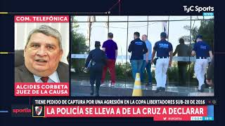 Pedido de CAPTURA a Nicolás DE LA CRUZ