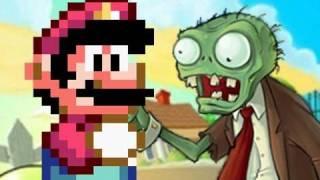 Repeat youtube video Mario vs. Plants vs. Zombies