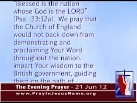 Prayer against homosexual marriage