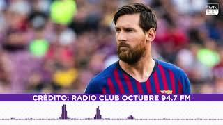 Entrevista completa de Messi en Radio Club Octubre