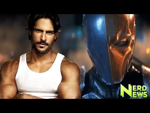 Joe Manganiello CONFIRMED to Play Deathstroke in Batman Solo Movie!