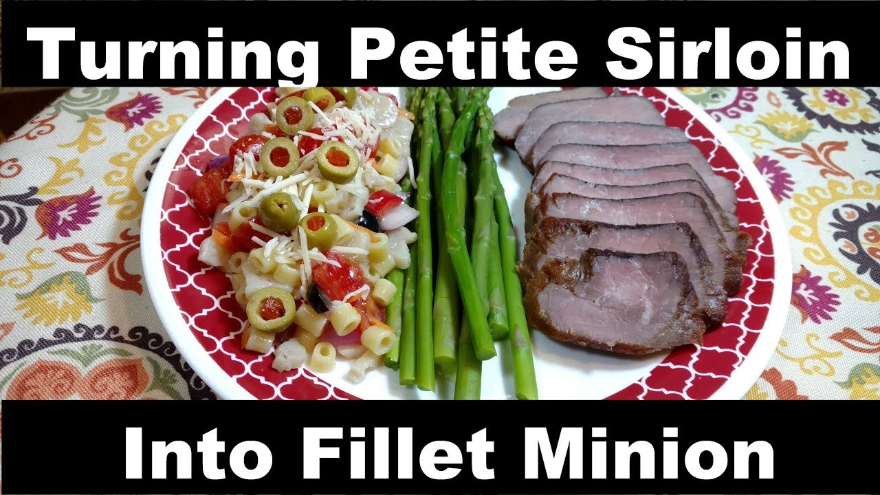 How to cook beef loin petite sirloin steak