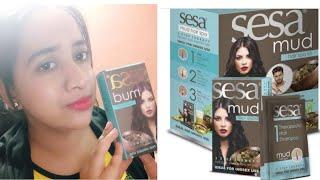 Hair spa/ salon style hair spa at home/sesa mud hair spa review/सेलून स्टाइल हेयर स्पा घर पर करे