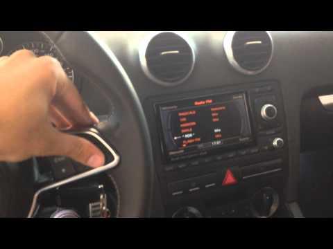 Volante Audi TT TT8s con comandi multifunzione funzionanti su A3 8p, A4 b7 b8, A5 e A6 4f, ecc...