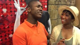 "Justin Oliver sings ""Have You Ever"" to Brandy Norwood"