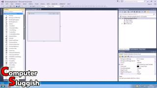 Visual Basic 2013 Tutorial For Beginners Part #1 - Basic Form Control (HELLO)