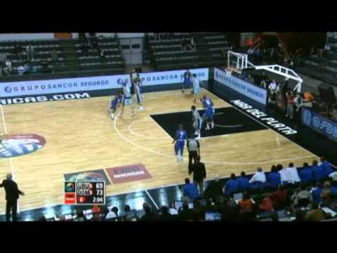 Uruguay Vs. Dominican Republic / 2011 FIBA Americas Championship Round 2