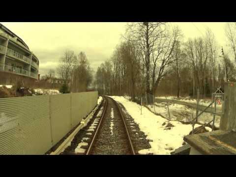 Cabview Metro Line 5 / Oslo metro / Oslo T-bane