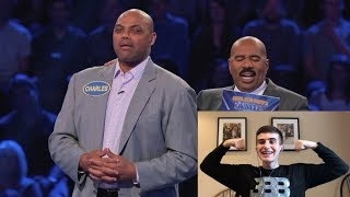 INSIDE THE NBA ON FAMILY FEUD!! SHAQIN A FOOL!! REACTION
