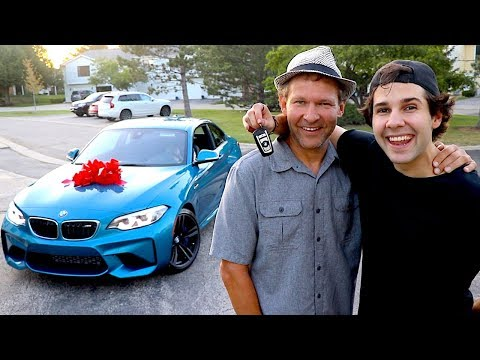 SURPRISING MY DAD WITH HIS DREAM CAR!!