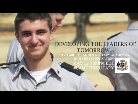 Hangout with Camden Military Academy: Developing the Leaders of Tomorrow