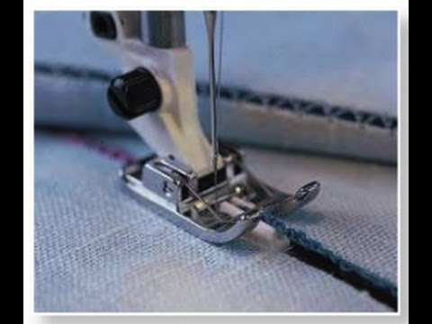 Husqvarna Viking Spanish Hemstitching Foot YouTube Custom How To Hemstitch On A Sewing Machine